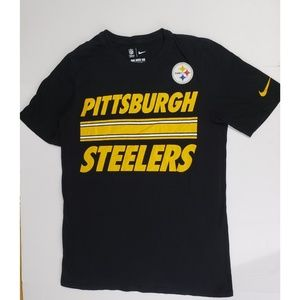 Nike Pittsburgh Steelers Athletic Cut Tee Size S